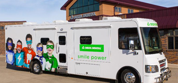 Two new mobile dental trucks to serve kids in South Dakota